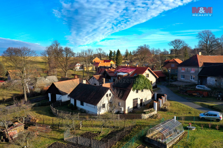 Prodej, rodinný dům 3+kk, 403 m2, Česká Rybná - Proseč
