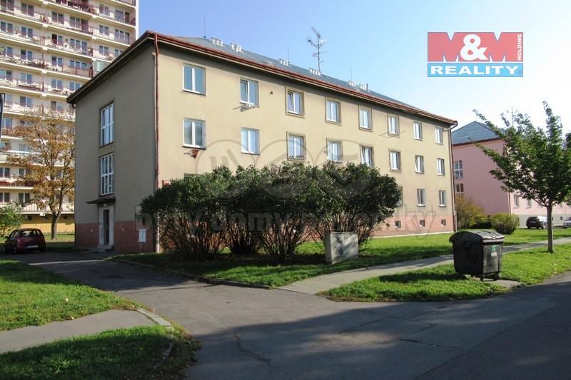 Pronájem, byt 1+1, 31 m2, Pardubice, ul. Na Okrouhlíku