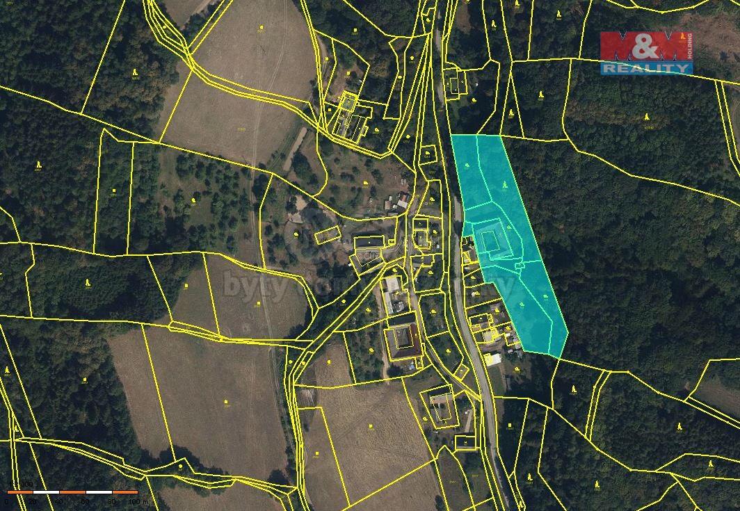 Prodej, pozemek k bydlení, 7229 m2, Městečko Trnávka