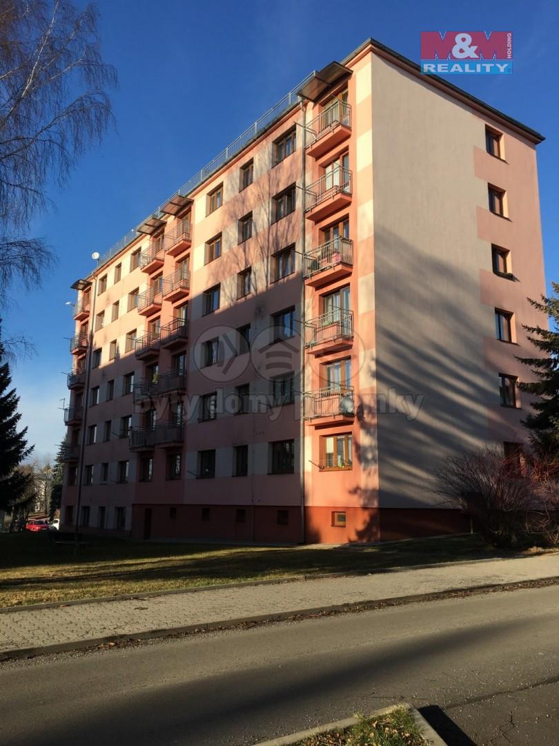Pronájem, byt 2+1, 53 m2, Hlinsko, ul. Budovatelů