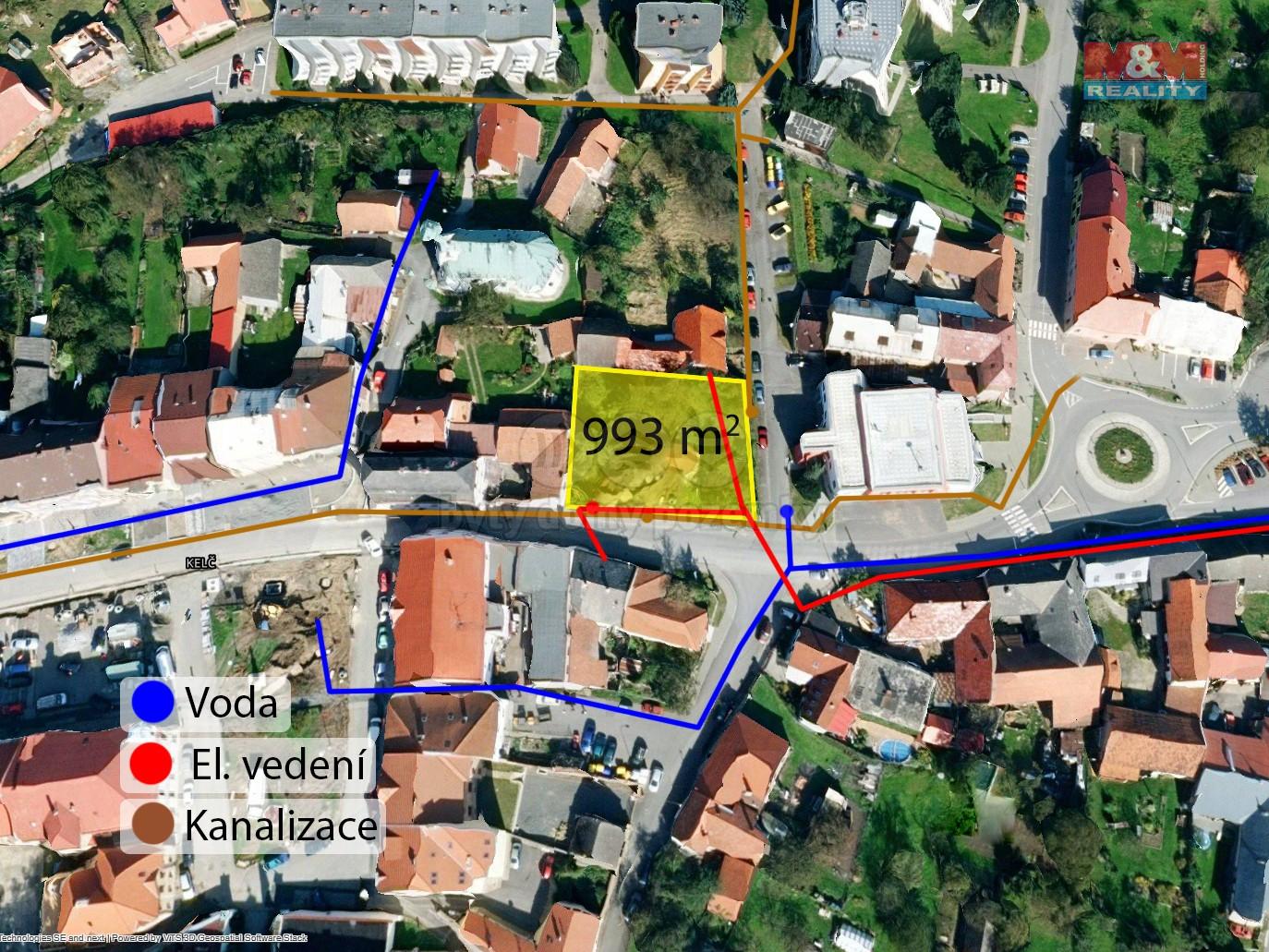 Prodej, pozemek k bydlení, 994 m², Kelč