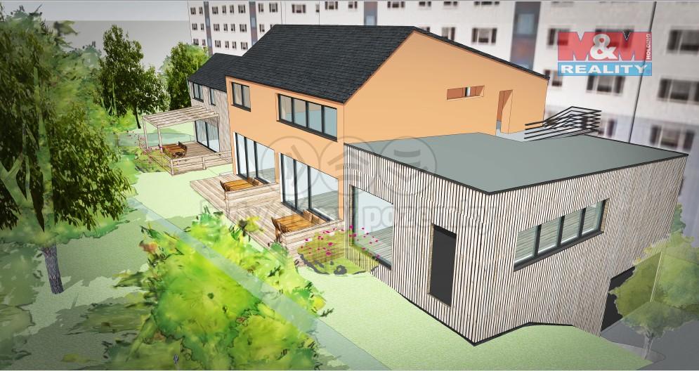 Prodej, stavební parcela, 955 m2, Praha - Michle