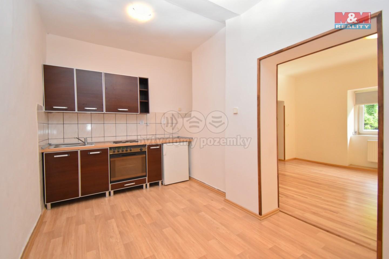 Pronájem, byt 1+1, 34 m2, Skuhrov nad Bělou