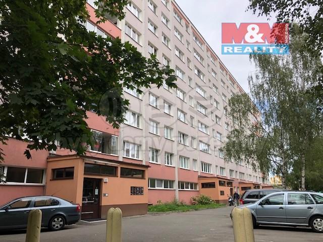 Pronájem, byt 1+kk, Pardubice, ul. Mladých