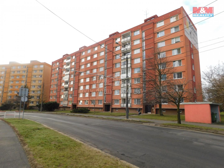Prodej, byt 1+1, 35 m², OV, Chomutov, ul. Březenecká