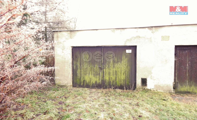 Prodej, garáž, 25 m2, Kamenický Šenov, ul. 9. května
