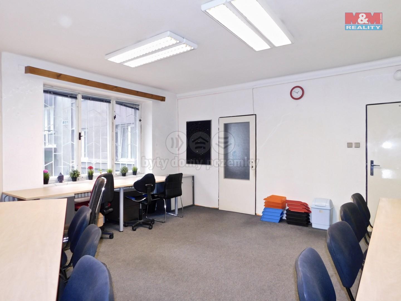 Pronájem, kancelářský prostor, 95 m2, Praha 10 - Vršovice
