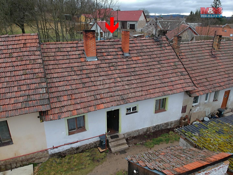 Prodej, rodinný dům 2+1, Palupín, okres.Jindřichův Hradec