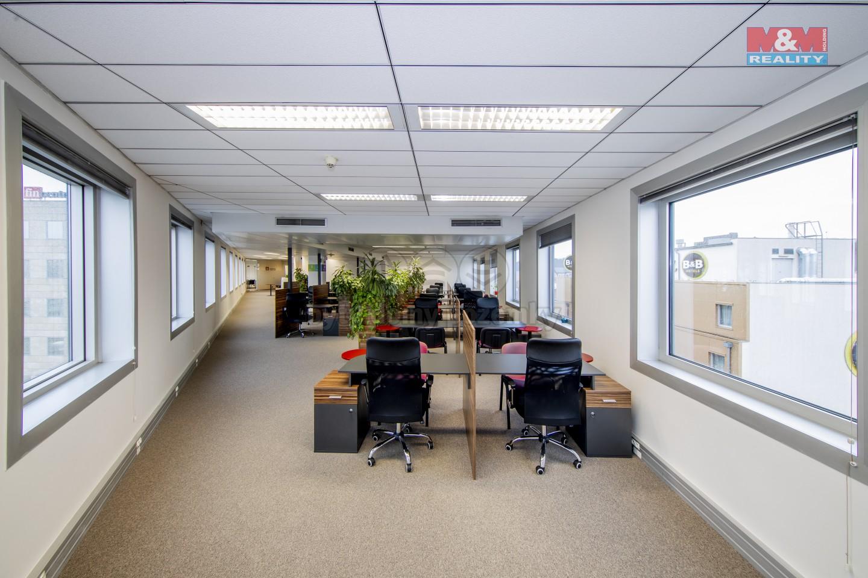 Pronájem, kancelářský prostor, 252 m², Praha 8, Karlín