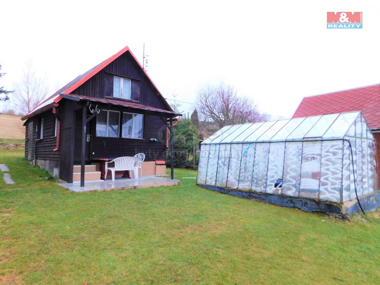 Prodej, chata 2+kk, 28 m2, zahrada 429 m2, Rotava