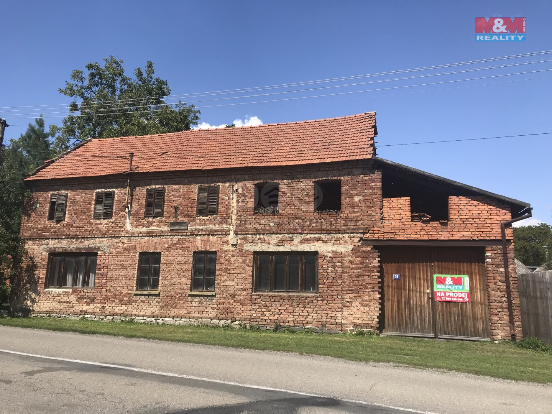 Prodej, rodinný dům 3+1, 550 m2, Dzbel