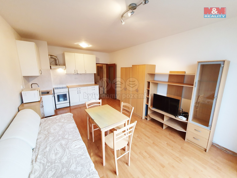Pronájem, byt 1+kk, 29 m2, Brno, ul. Zderadova