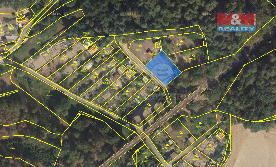 Prodej pozemku k bydlení, 524 m², Velké Meziříčí