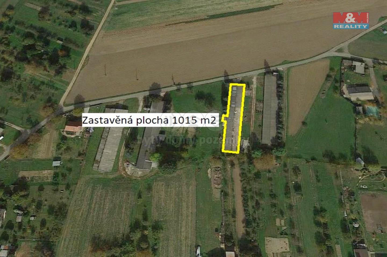 Prodej zemědělského objektu, 1015 m², Troubky