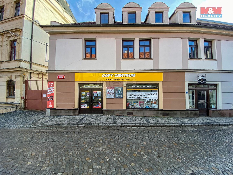 Pronájem obchod a služby, 136 m², Litoměřice, ul. Lidická