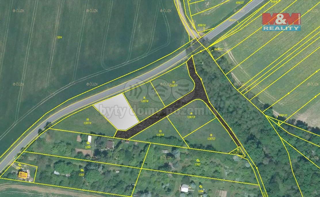 Prodej pozemku k bydlení, 813 m², Plzeň