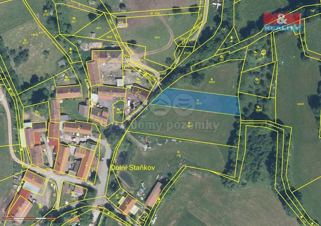 Prodej pozemku k bydlení, 1 311 m², Sušice