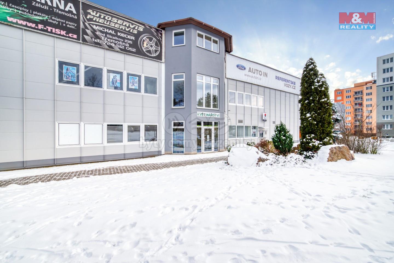 Pronájem, kancelářské prostory, Třemošná, ul. Plzeňská