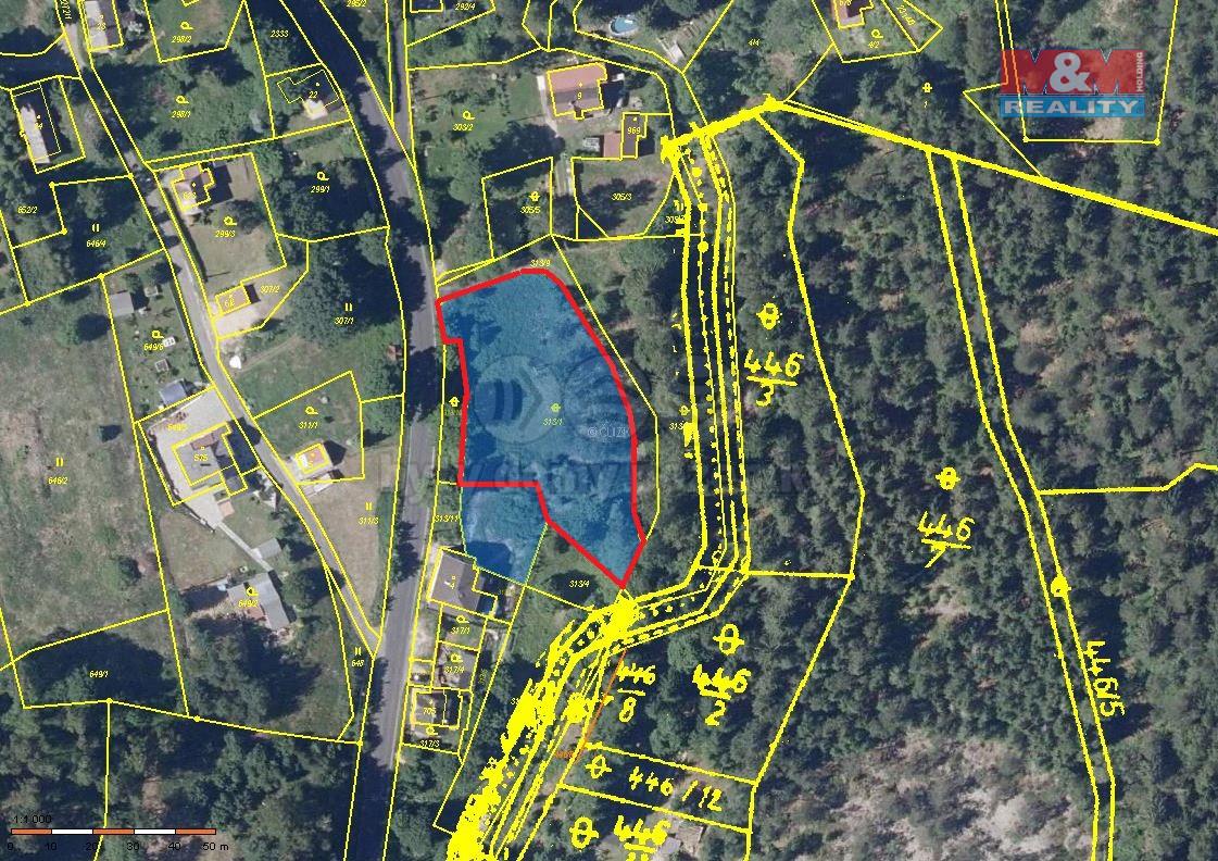 Prodej pozemku k bydlení, 2278 m², Bublava