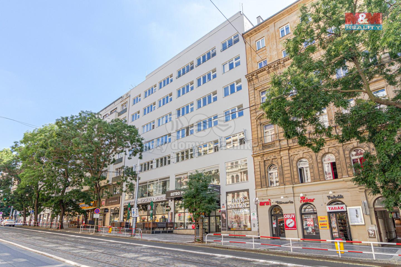 Pronájem bytu 2+kk, 62 m², Praha, ul. Francouzská