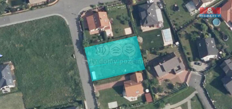 Prodej pozemku k bydlení, 866 m², Jesenice