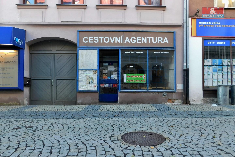 Pronájem, obchod a služby, 53 m², Chomutov, ul. Ruská