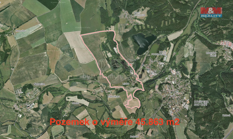 Prodej louky, 45863 m2, Liboc u Kynšperka nad Ohří