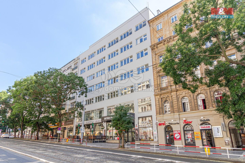 Pronájem bytu 3+1, 101 m², Praha, ul. Francouzská
