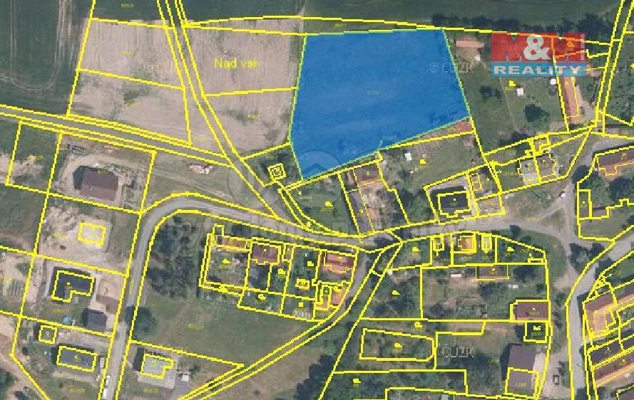 Prodej, pozemek, 4338 m2, Skapce