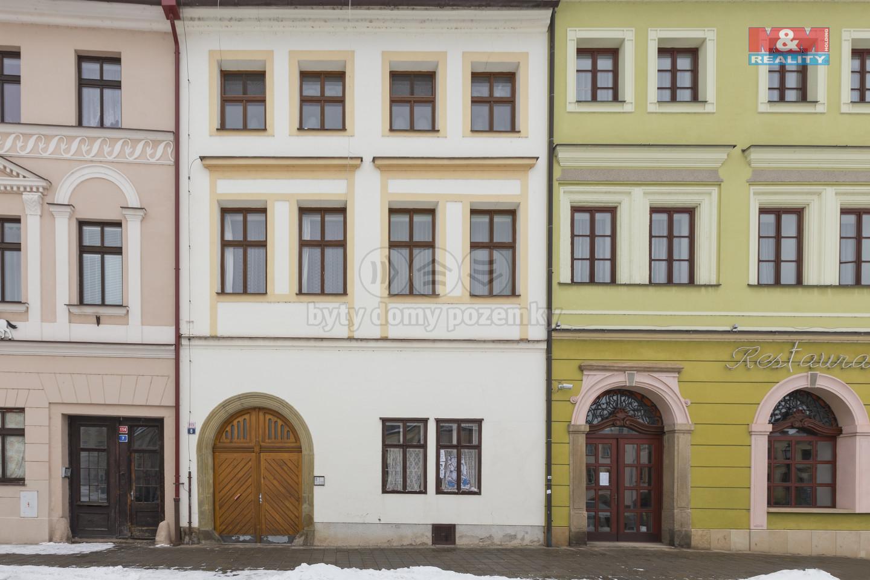 Pronájem bytu 2+1, 85 m², Hradec Králové, ul. Malé náměstí
