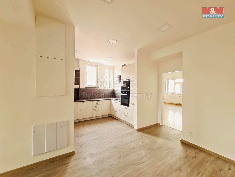 Pronájem bytu 2+kk, 70 m2, Praha 1 - Nové Město, ul. Petrská