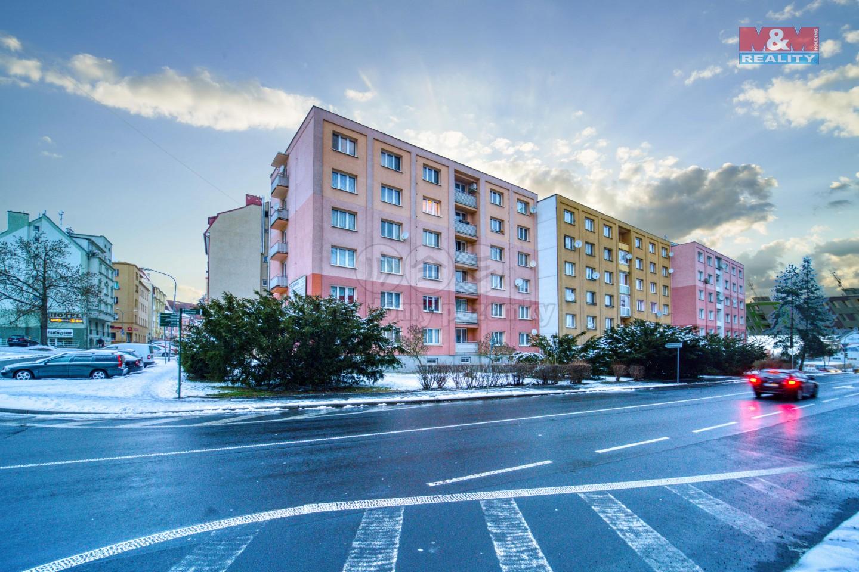 Prodej bytu 2+1, 61m², Cheb, ul. Májová