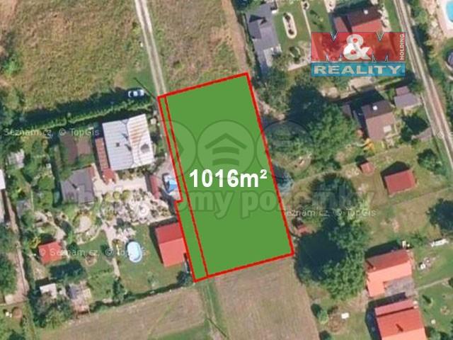 Prodej zahrady, 1016 m², Doubrava