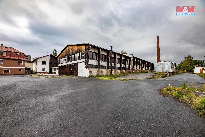 Pronájem výrobního areálu 43 969 m2, Toužim, ul. Plzeňská