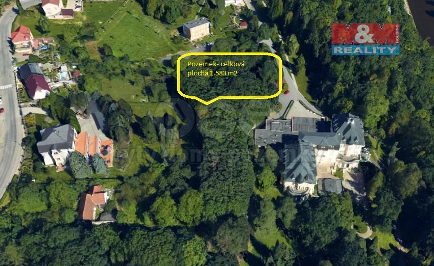 Prodej zahrady, 1583 m², Teplice nad Bečvou