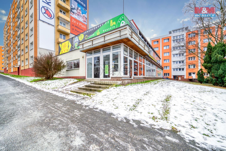 Pronájem kancelářského prostoru, 346 m², Plzeň, ul. Revoluční