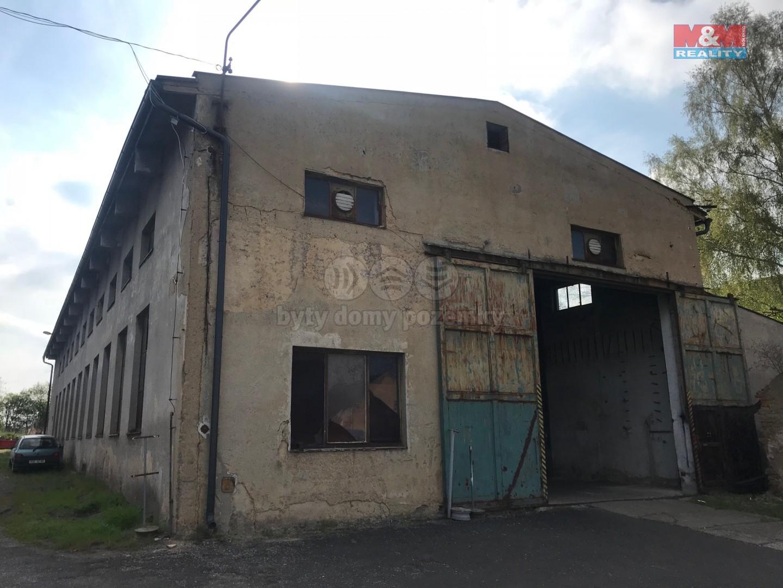 Pronájem skladu, 645 m², Olešná