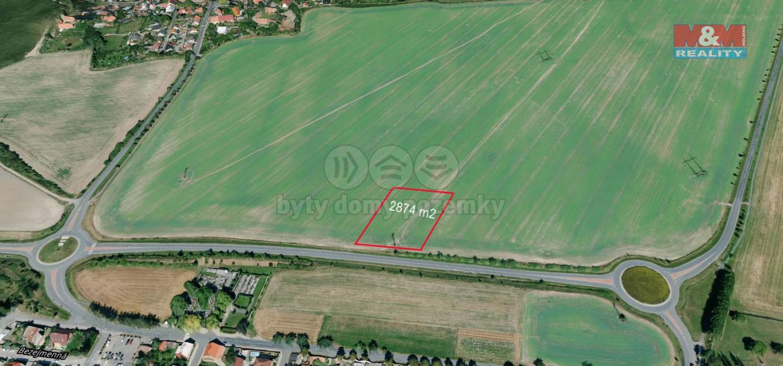 Prodej pole, 2874 m², Lány