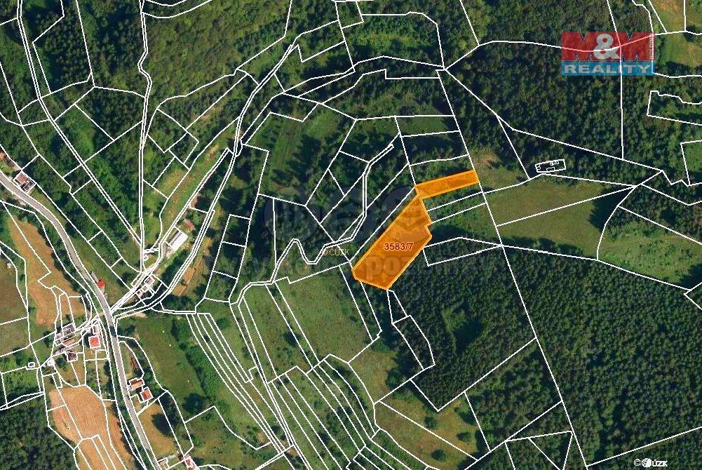 Prodej louky, 4840 m², Halenkov