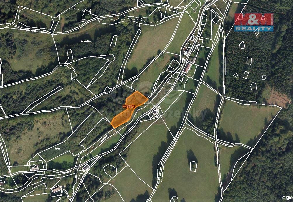 Prodej lesa, 2944 m², Vápenná