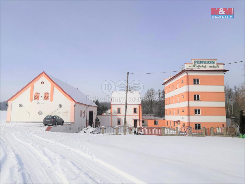 Prodej hotelu, penzionu, pozemek 17902 m², Nebanice