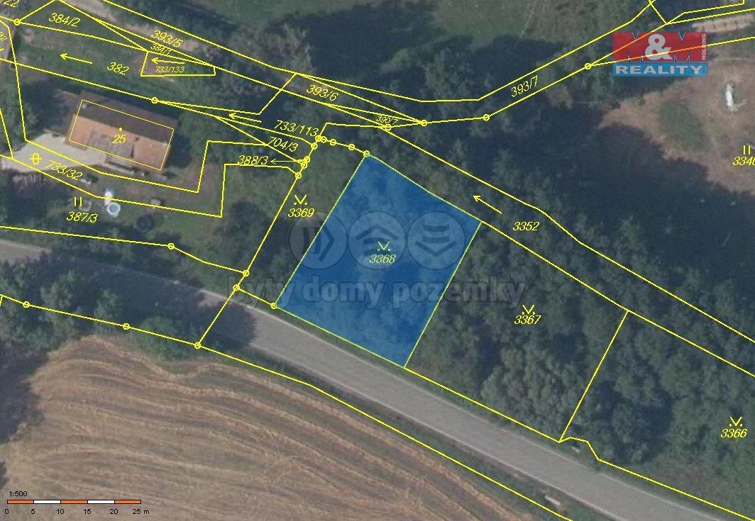 Prodej pozemku, 827 m², Tutleky