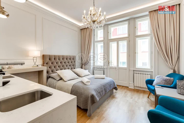 Prodej, byt 1+kk, 26 m2, Praha 1 - Nové Město