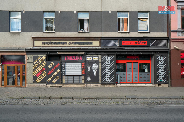 Prodej obchodního objektu, 500 m², Přerov, ul. Husova
