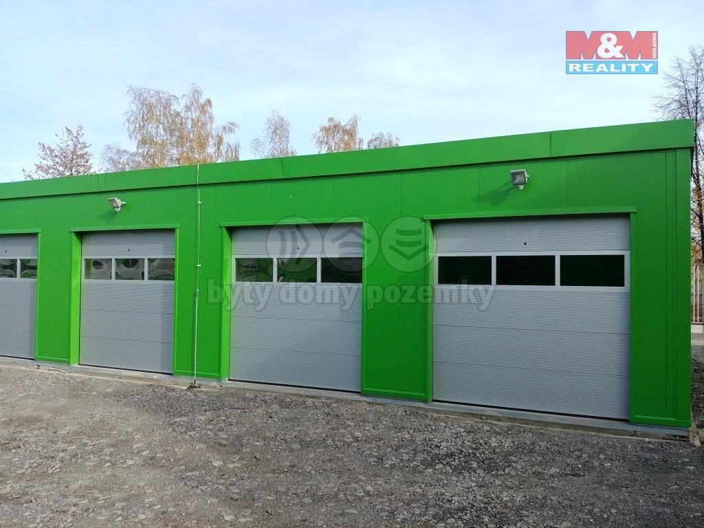 Pronájem garáže, 24 m², Ostrava, ul. Orlovská