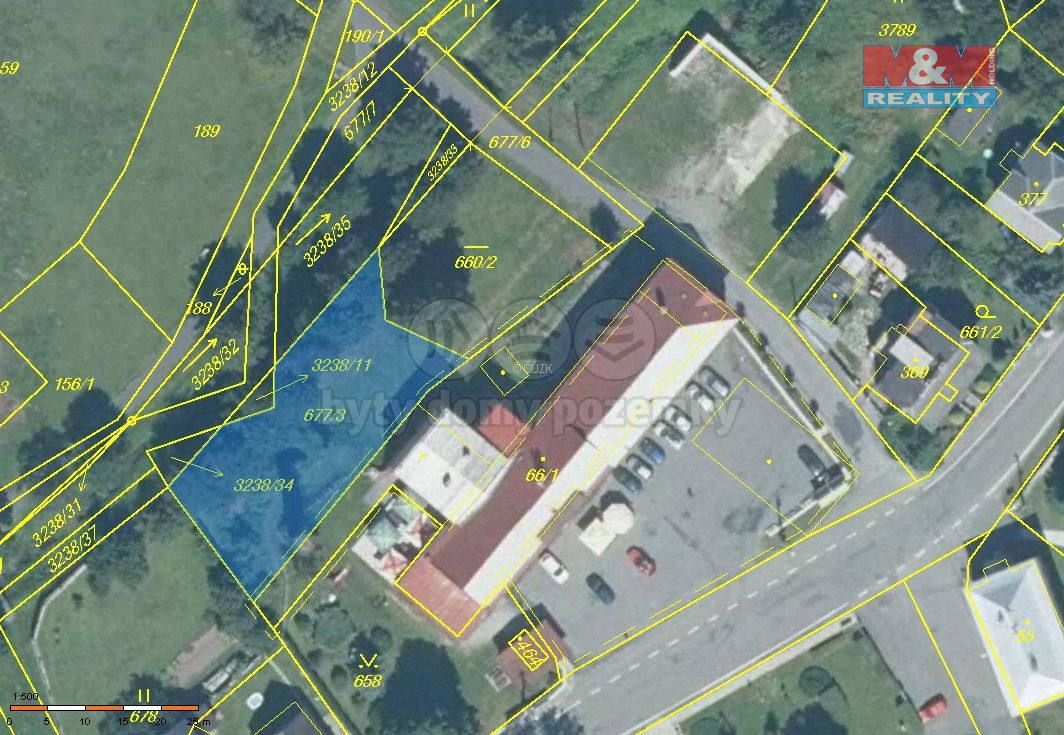 Prodej pozemku, 1155 m², Černá Voda