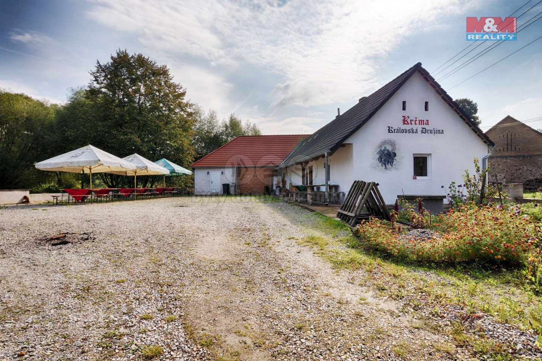 Prodej restaurace, stravování, 1229 m², Ostrov u Vlašimi