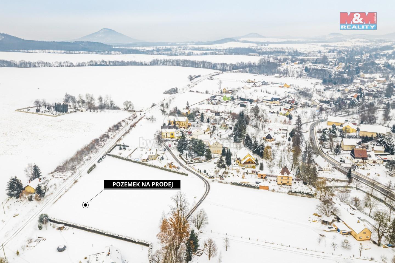 Prodej pozemku k bydlení, 3487 m², Horní Habartice