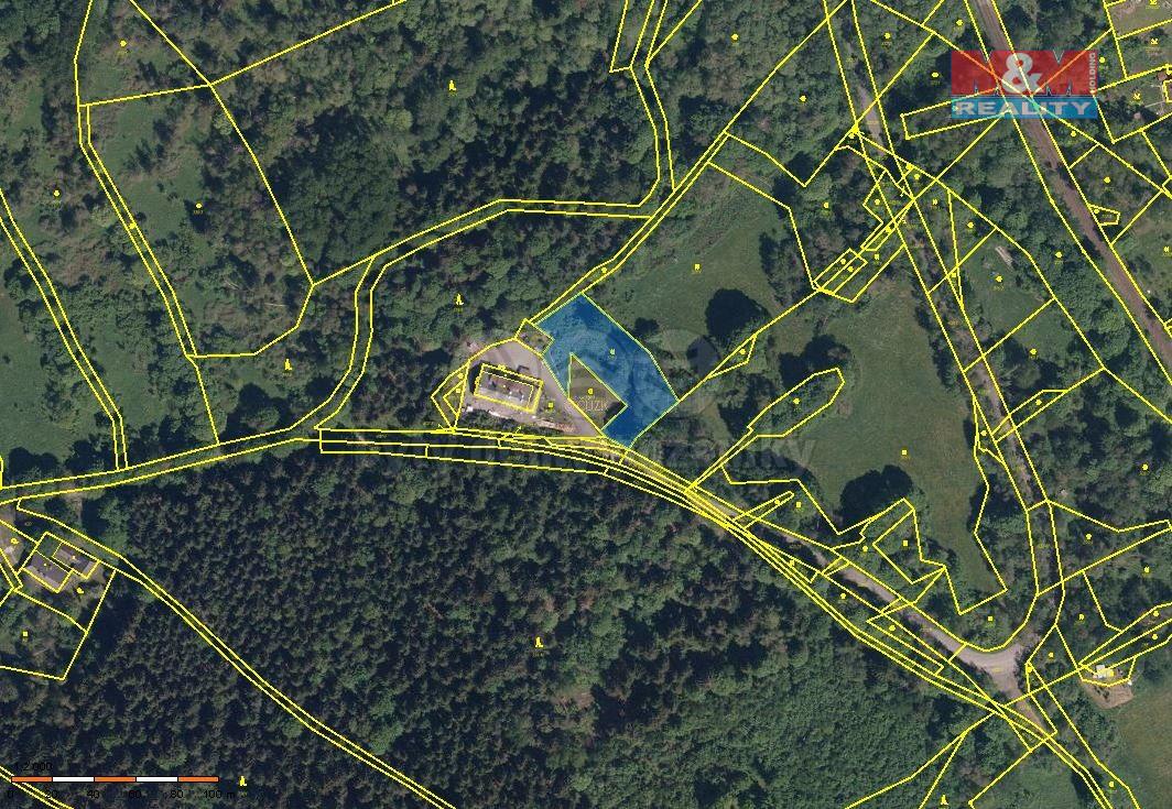 Prodej pozemku, 2194 m², Chroboly