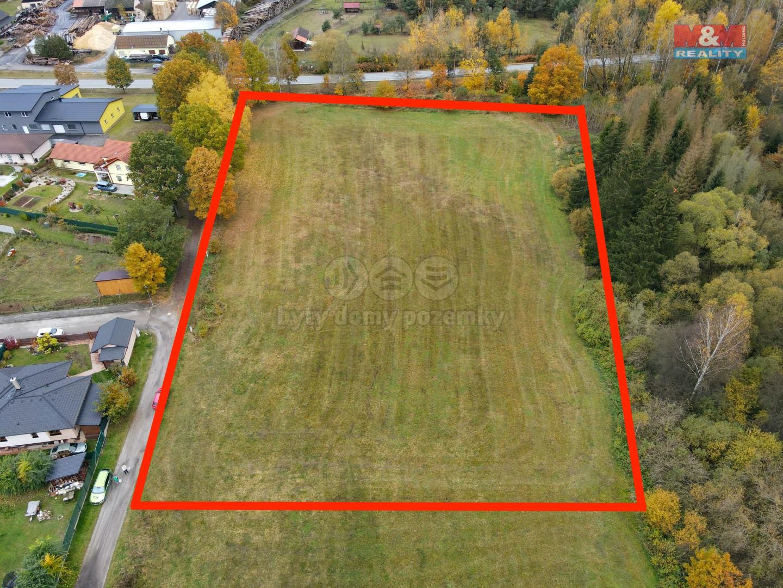 Prodej pole, 11001 m², Rodvínov